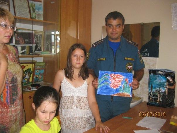 """Конкурс рисунка """"Дети против пожаров"""""""