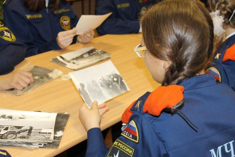 Встреча с ветеранами гражданской обороны