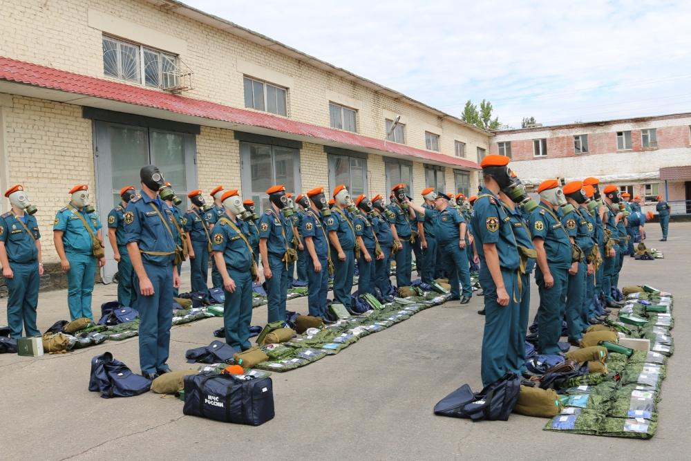 Итоговая проверка ГУ МЧС России по Астраханской области