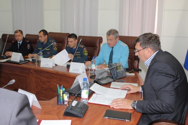 Посещение руководящим составом Главного управления