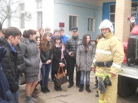 День открытых дверей в ОФПС - 9