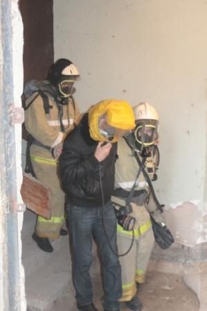 Пожарно-тактические учения на здании Астраханской государственной медицинской академии