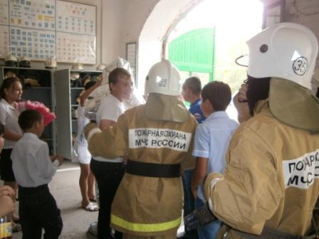 День Открытых дверей в ОФПС-7 Красноярского района Астраханской области