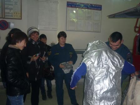 День открытых дверей в ОФПС -7