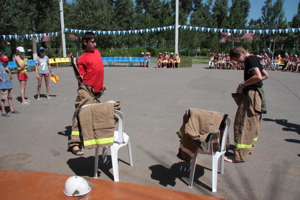 Познавательно-профилактическое занятие в детском лагере