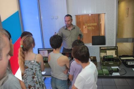 День открытых дверей ФГБОУ ДПО Астраханский учебный центр ФПС