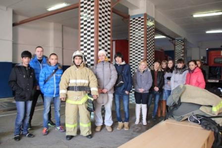 День открытых дверей в ОФПС - 1