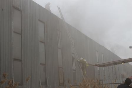 Пожар на ул. Мира,1