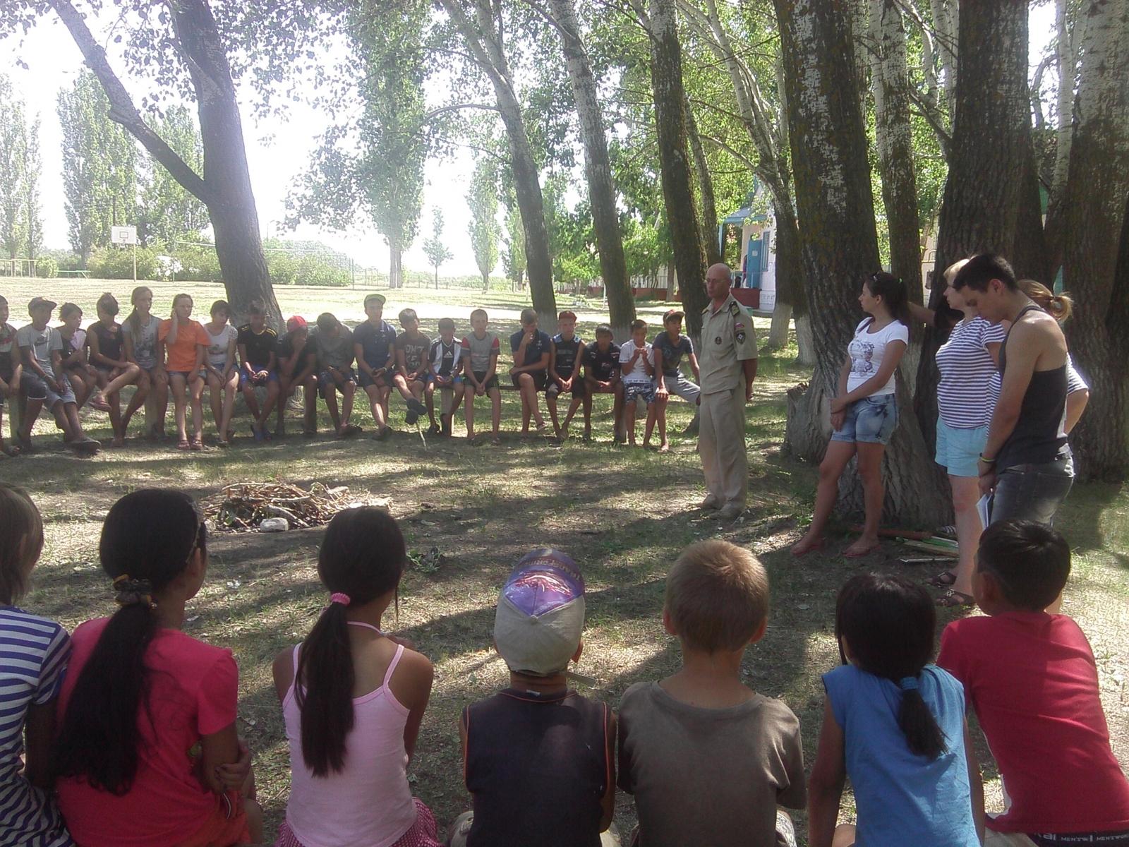 Воспитанники «Ромашки» встретили гостей