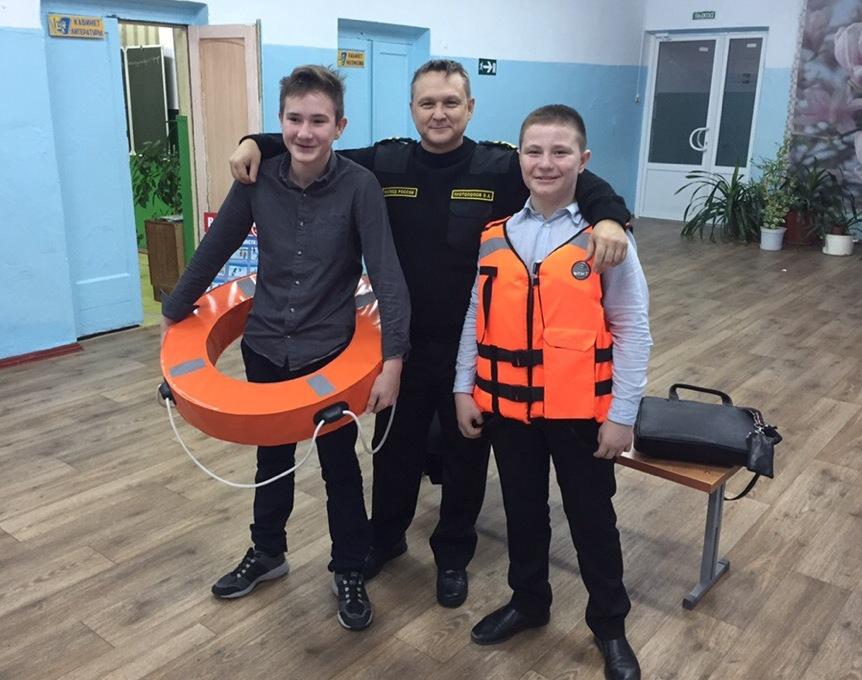 Открытые уроки «БезОпасности» охватили школы города Калача-на-Дону Волгоградской области