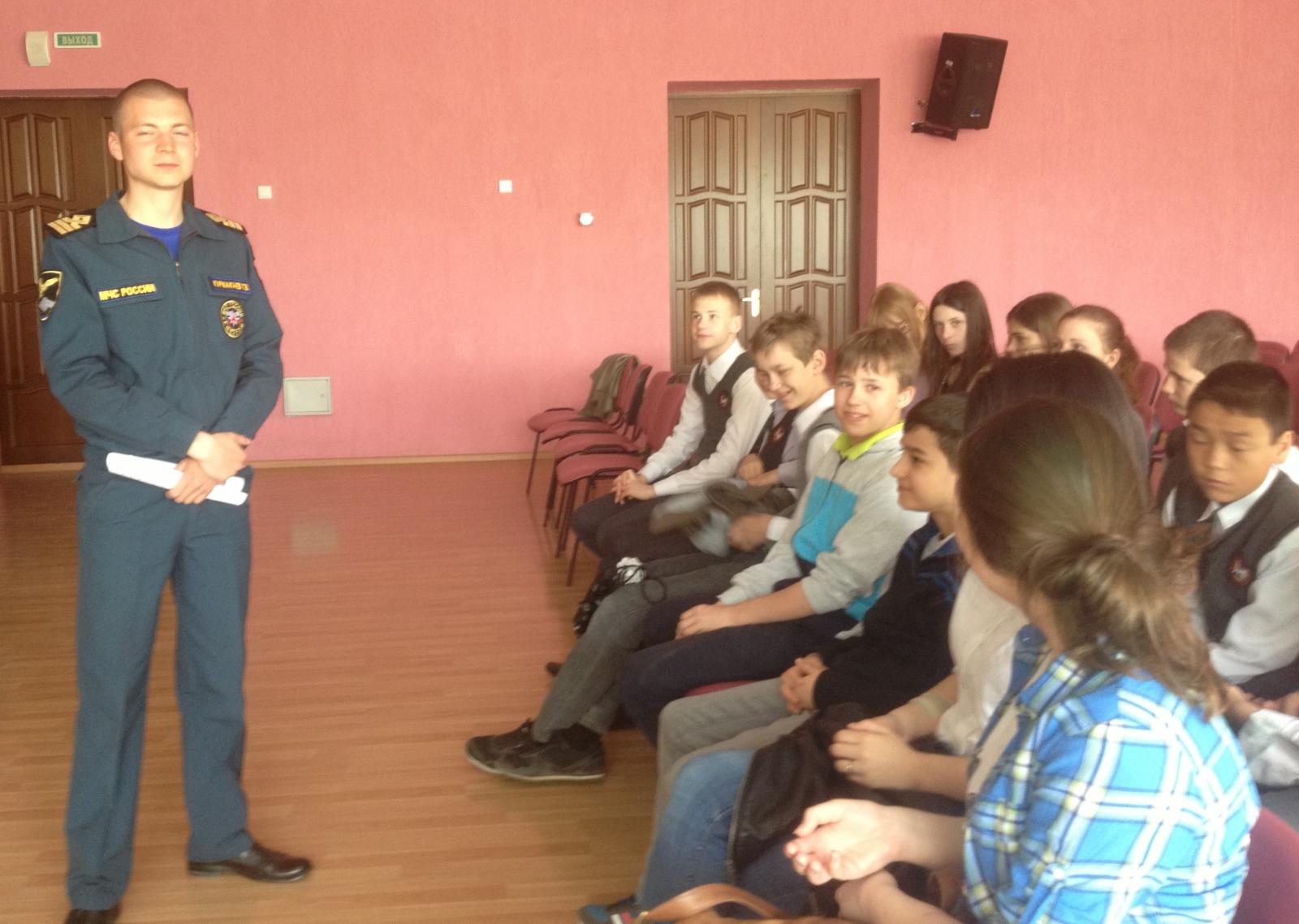 Волгоградские школьники вспоминают о правилах безопасного поведения у воды