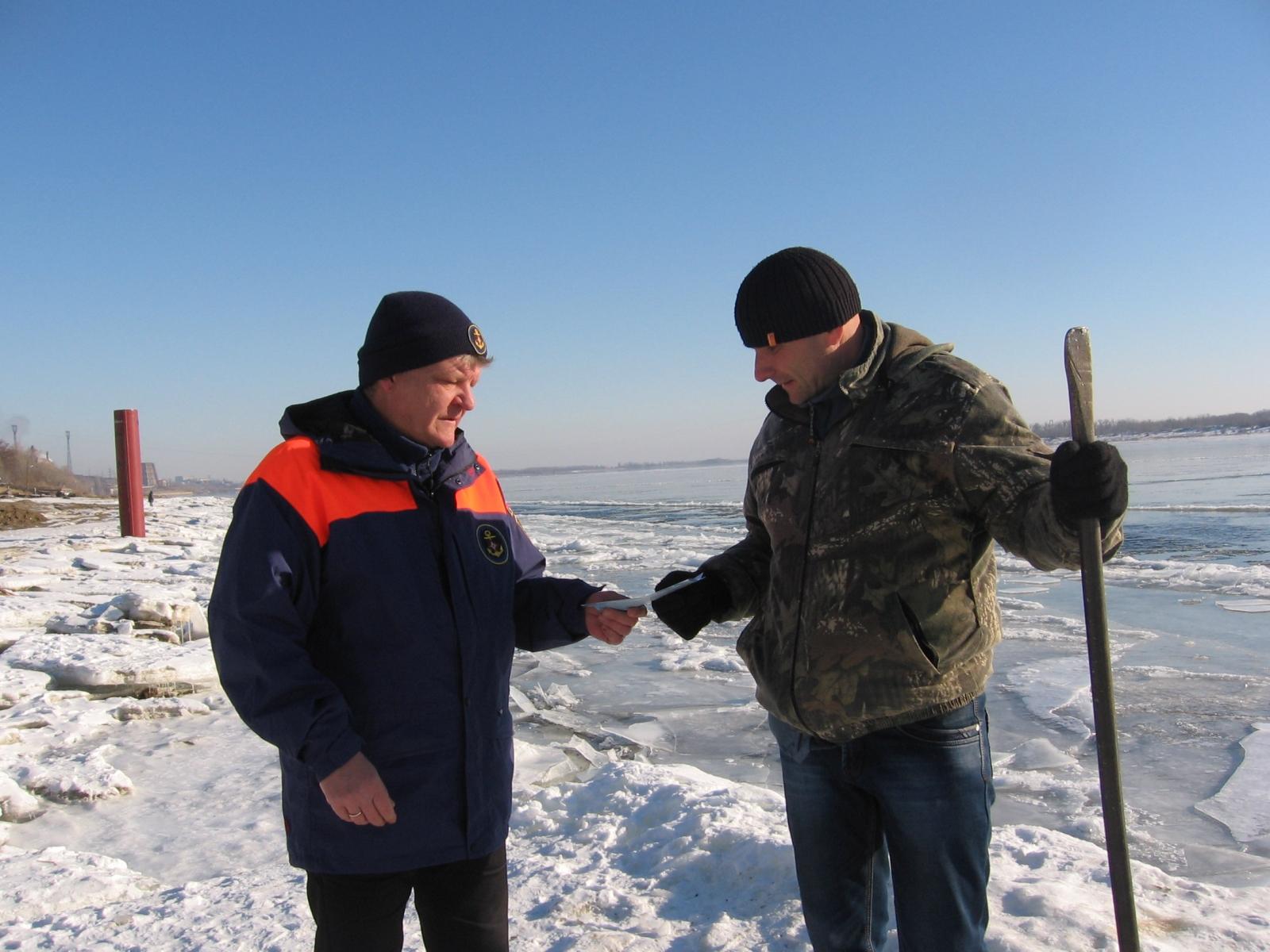 Зимняя рыбалка весной опасна для жизни