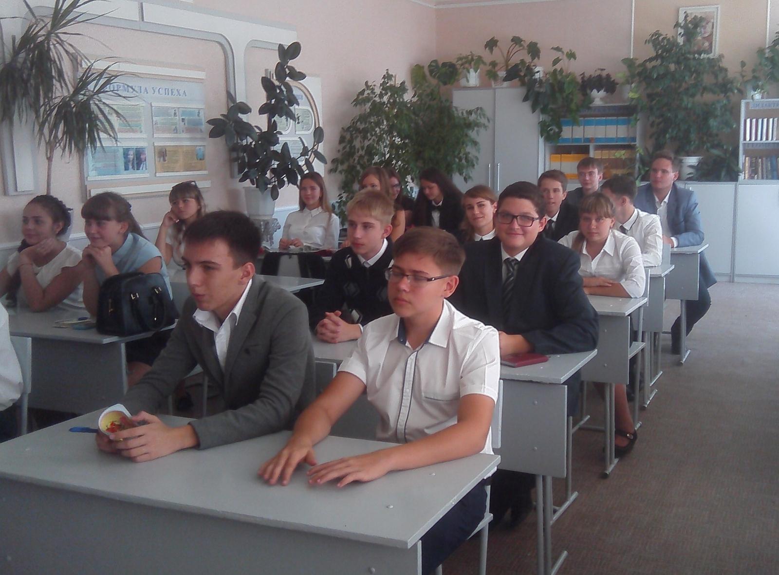 Школьникам продолжают напоминать о правилах безопасности