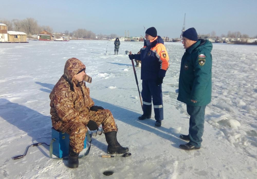 На территории Волгоградской области проходит межведомственная акция «Безопасный лёд»