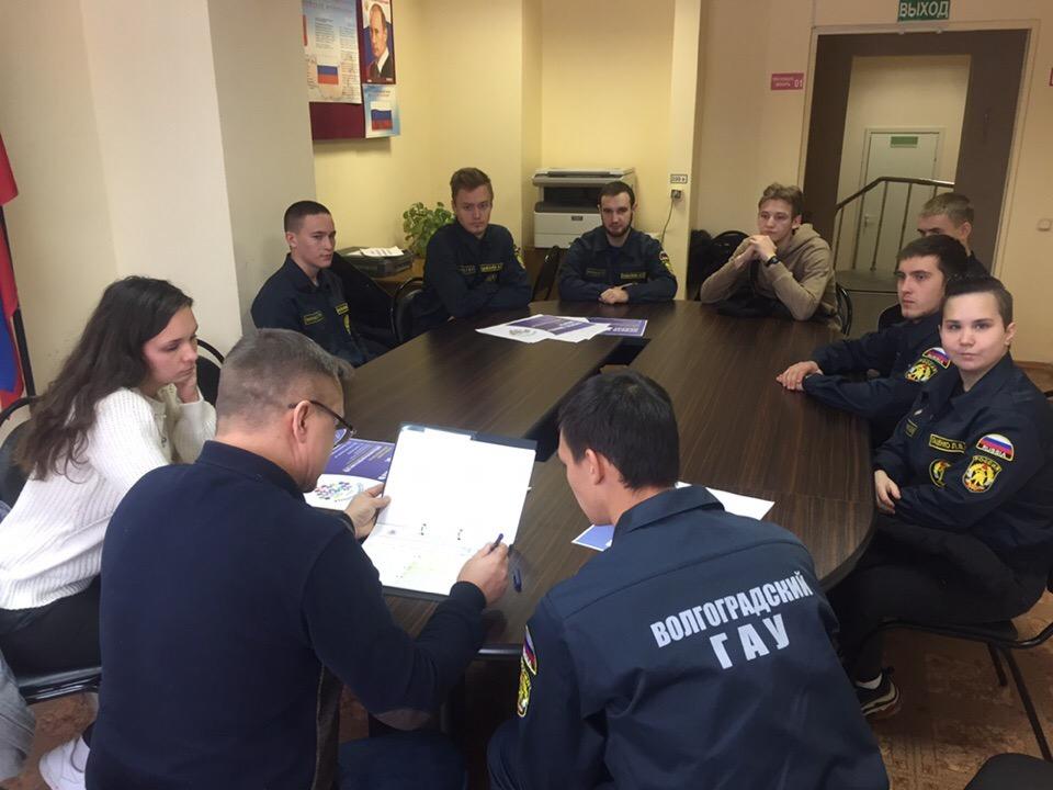 Правила безопасности на водоёмах Волгоградской области: студенты сдали экзамен, а школьники - практику