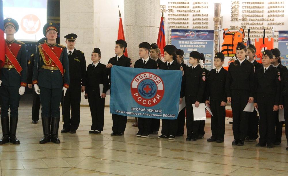 В Волгограде состоялось посвящение юных матросов-спасателей