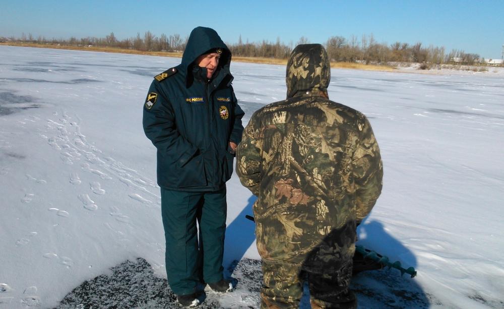 МЧС предупреждает: выход на лёд водоёмов и выезд на него на автотранспорте опасен для жизни!