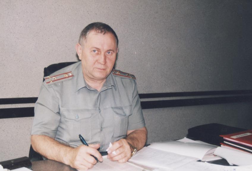 65 лет исполнилось ветерану пожарной охраны края  Виктору Алексеевичу Фефелову