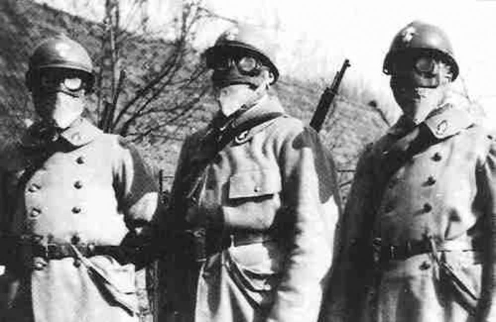Цикл статей к 85-летию Гражданской обороны России (статья № 3): История создания средств индивидуальной защиты для солдат Первой мировой войны