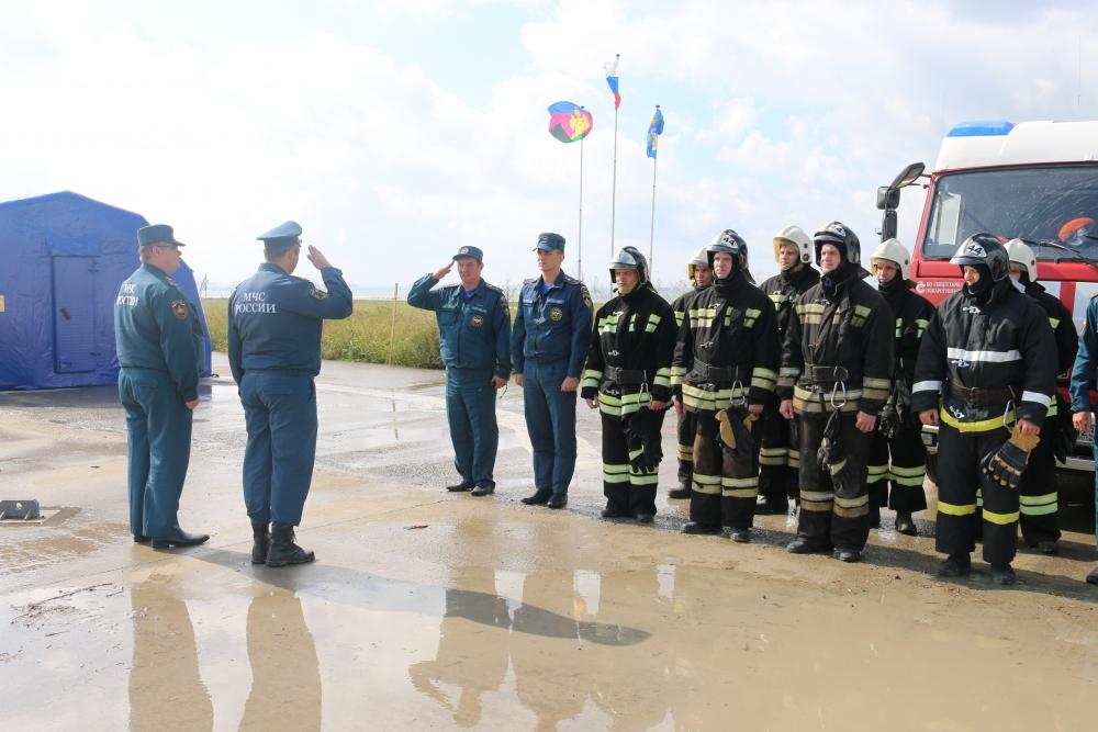 Всероссийская тренировка по гражданской обороне г. Темрюк