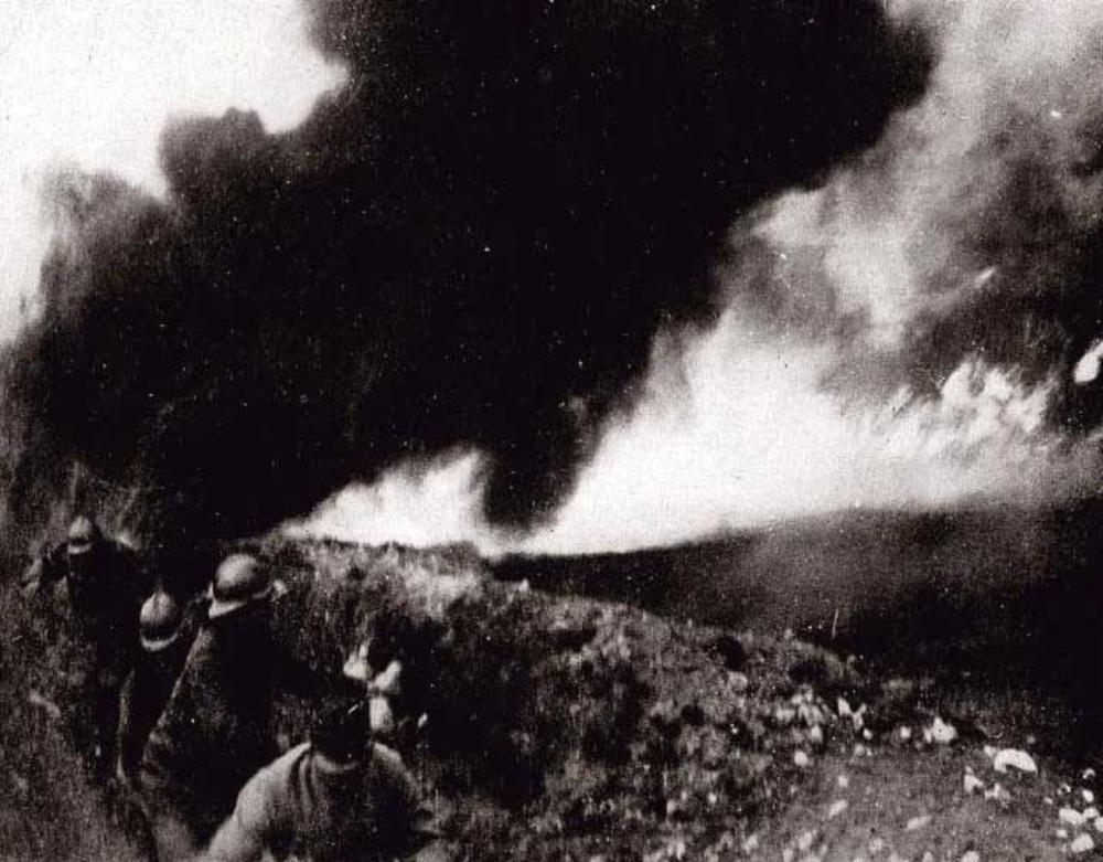 Цикл статей к 85-летию Гражданской обороны России (статья № 2): Применение химического оружия в период Первой мировой войны 1914-1918гг.