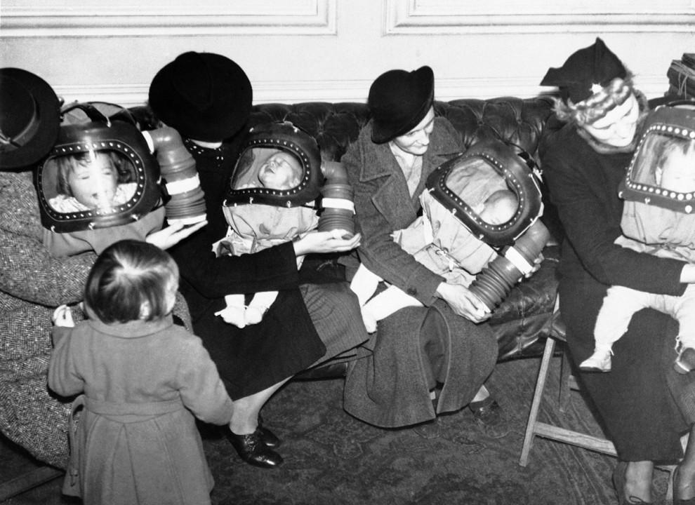 Цикл статей к 85-летию Гражданской обороны России (статья № 7): Подготовка населения к воздушно-химической обороне по окончанию Первой мировой войны
