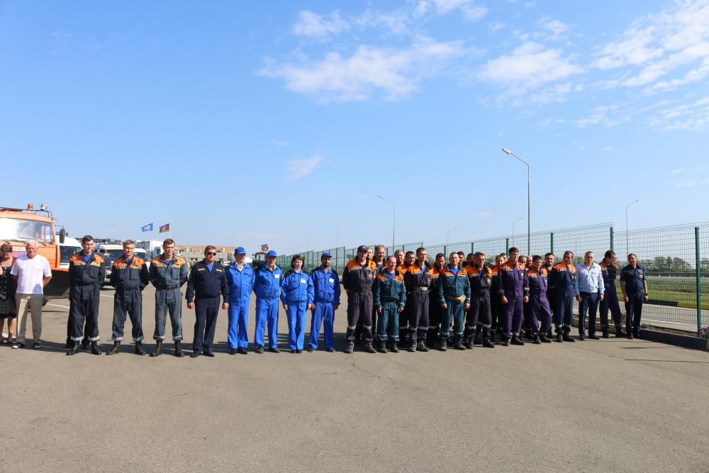 Общероссийская тренировка по гражданской обороне