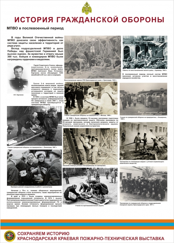 Фотовыставка «История гражданской обороны»