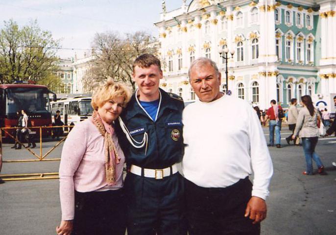 Три поколения семьи Федоренко