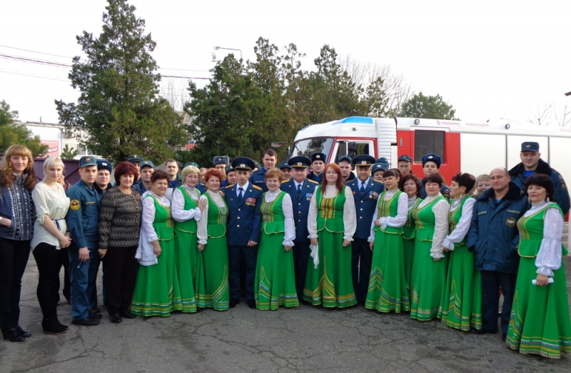 Юбилей отмечает ветеран пожарной охраны Ирина Максимова