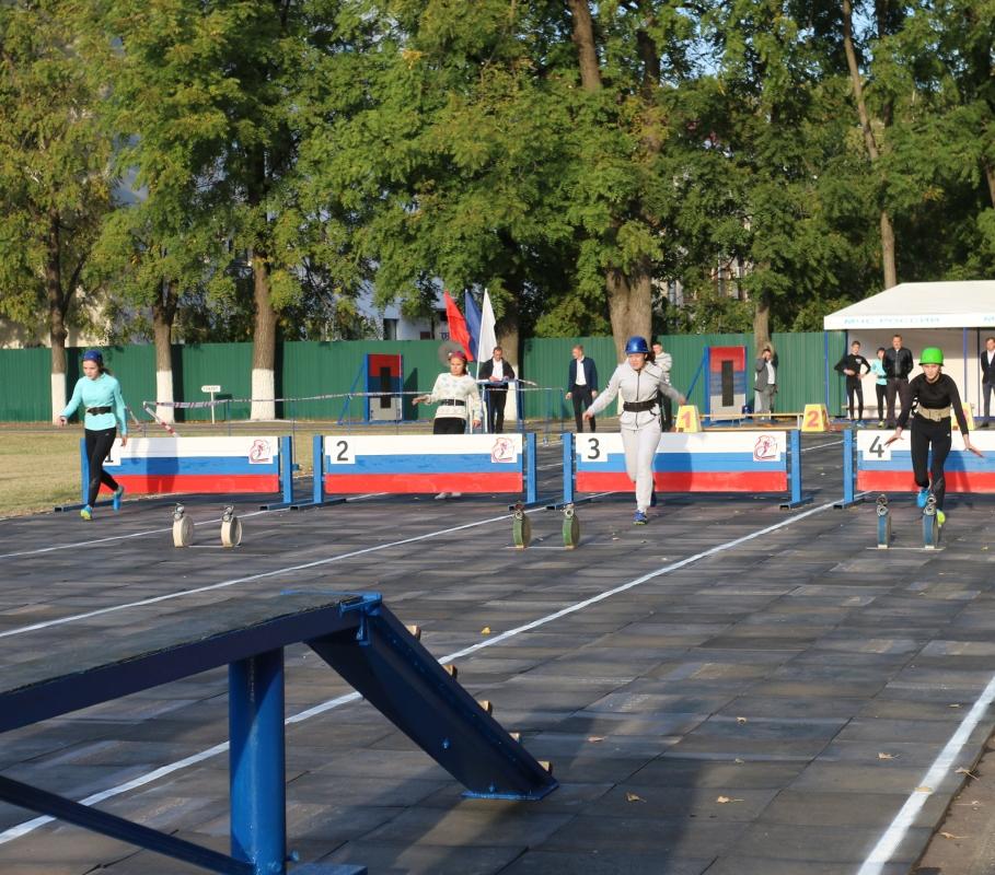 Чемпионат Краснодарского края, посвящённый 80-летию пожарно-прикладного спорта. 1 часть