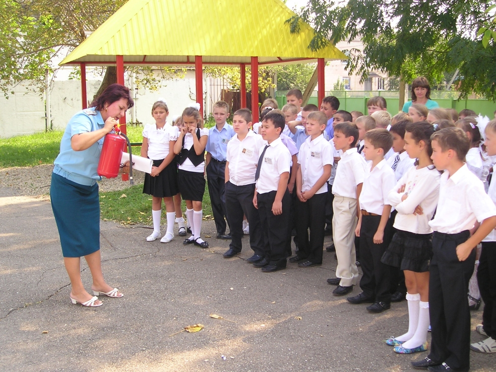 В школах Кубани пройдёт урок безопасности