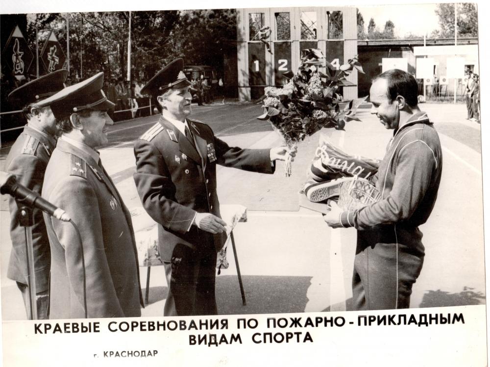 Ветеран пожарной охраны Николай Владимиров празднует юбилей