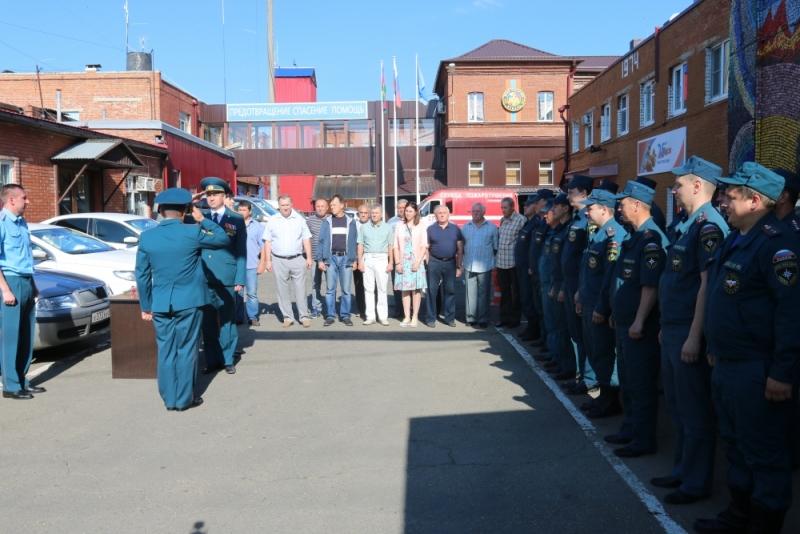 Пожарно-спасательной части Краснодара №1 исполнилось 215 лет