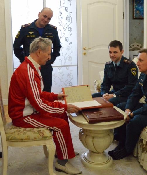 Иван Сущенко отметил свой день рождения