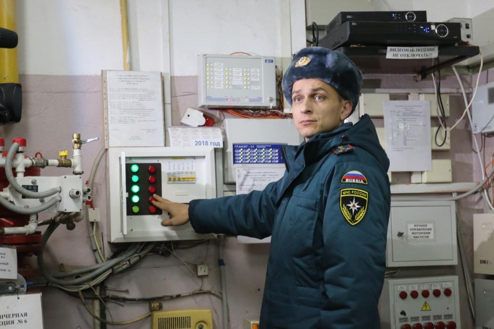 """Инспекторы надзорной деятельности проводят операцию """"Новый год"""""""