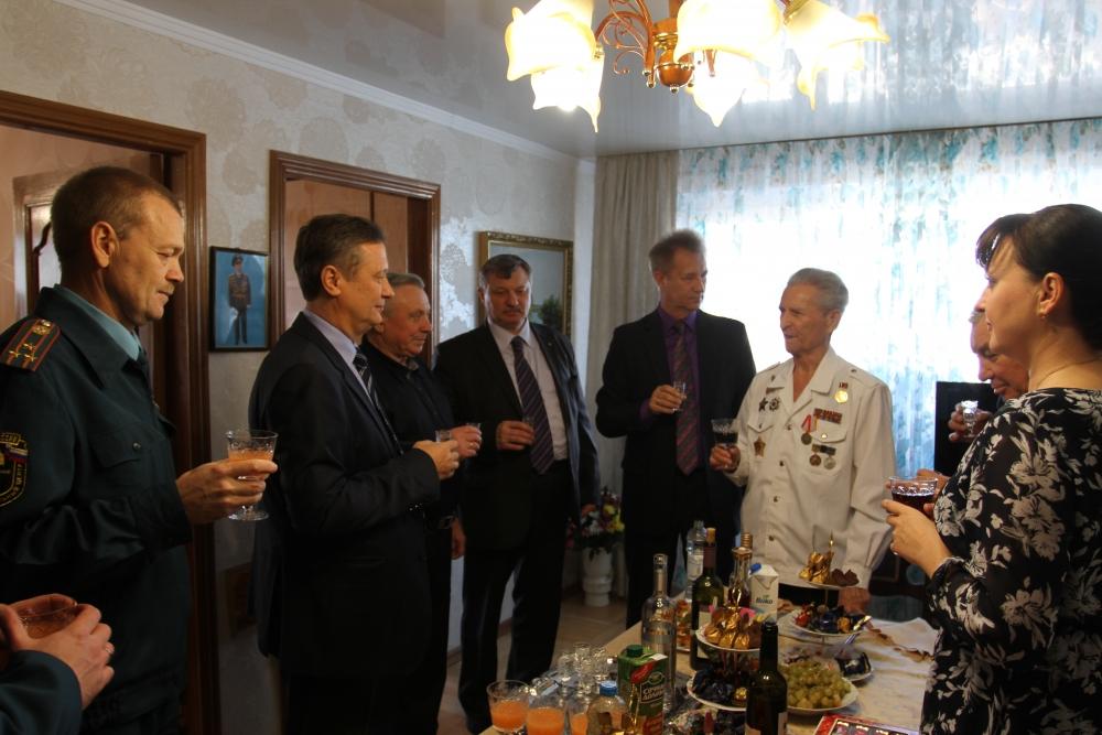 Юбилей Ивана Степановича Сущенко, 15 января 2016г.