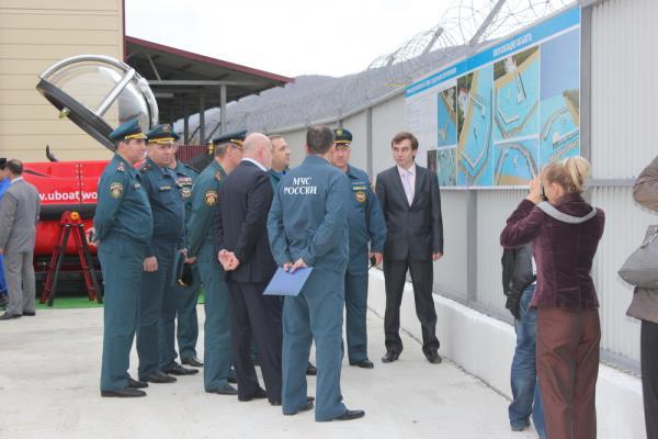 Открытие водолазного центра п.Агой, ноябрь 2012г.