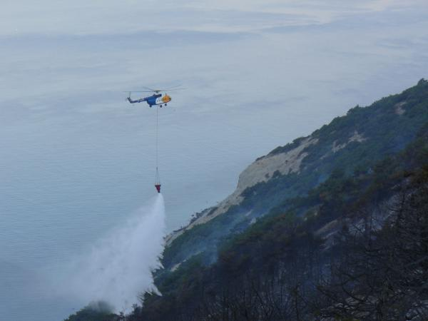 Работа в зоне чрезвычайной ситуации, июль 2012г.