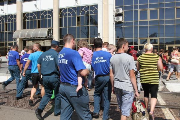 Встреча вынужденных переселенцев из Украины