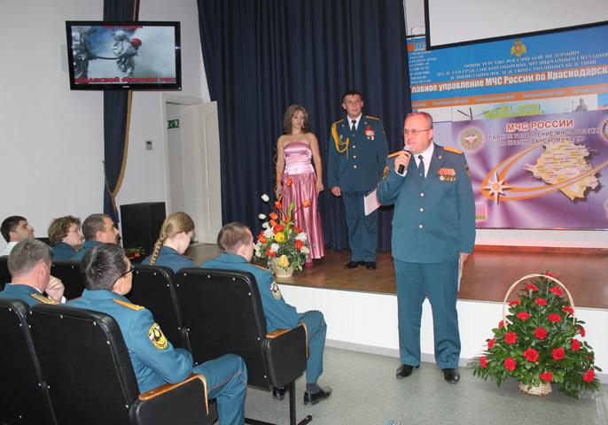 В Главном управлении прошло торжественное мероприятие в преддверии 82-й годовщины Гражданской обороны России
