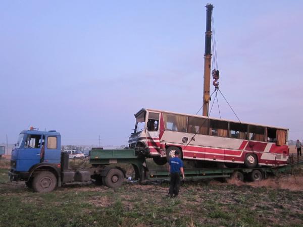 ДТП на автодороге М-25 Анапа - Гостагаевская