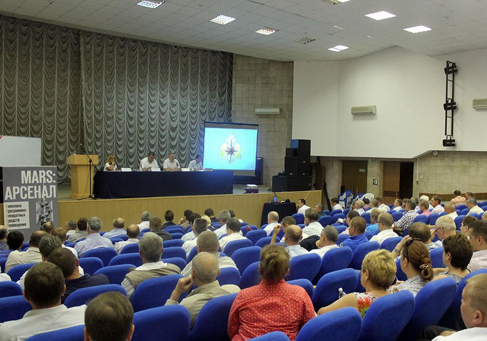 В Крымском районе обсудили внедрение системы экстренного оповещения населения
