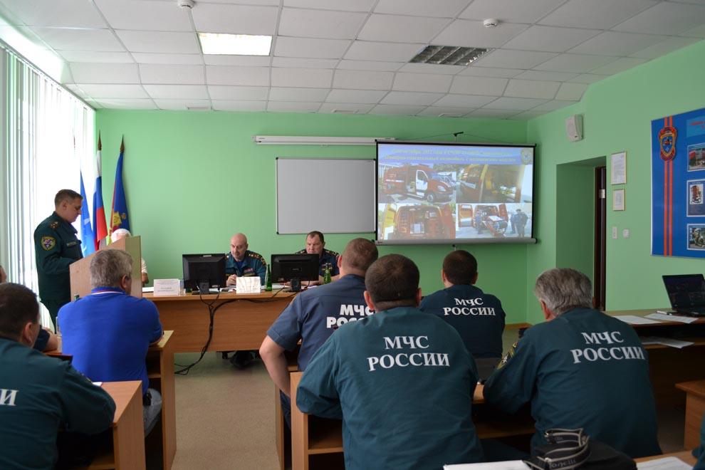 В специализированной части экстренного реагирования Краснодара рассказали о новых технологиях ликвидации пожаров и ДТП
