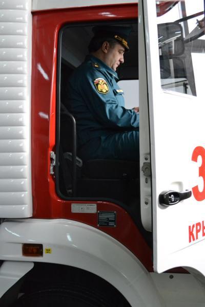 Открытие пожарно-спасательного центра г.Крымск,  ноябрь 2012г.