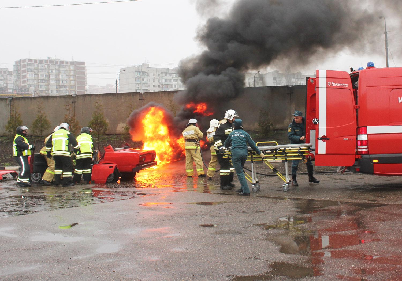 Автопробег «За пожарную безопасность»