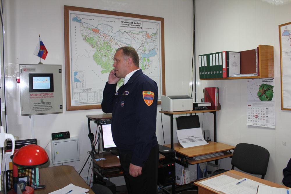В Крымском районе проводятся масштабные учения
