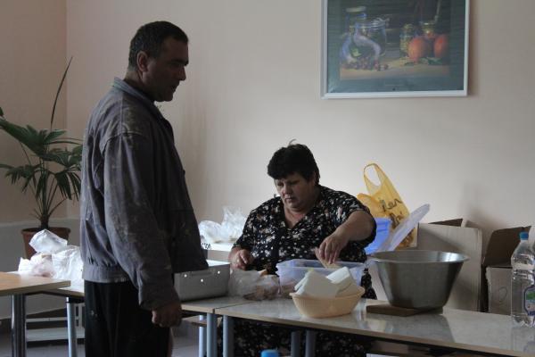 Ликвидация подтопления в п. Новомихайловский Туапсинского района, июль 2012г.