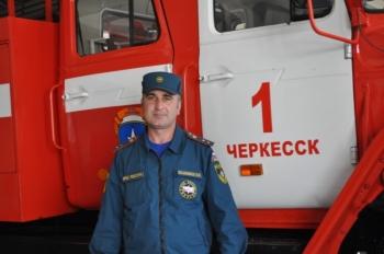 Героическая работа пожарного