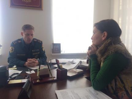 Актуальное интервью: Виталий Немцов рассказал об оперативной обстановке с пожарами и превентивных мероприятиях, проводимых в Карачаево-Черкесии